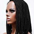 Natural Part Box-Braided Lace Wig Modu Anytime LPW-137 Synthetic Need No Glue