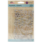 Prima Marketing Julie Nutting Planner Clear Stamps 4X6 Calendar Musts