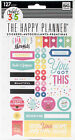 Me  My Big Ideas PPSP 100 Create 365 Planner Stickers Happy Brights