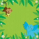 Darice Easy Peasy Page Layout W 3D Design 12X12 Jungle Animals