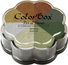 Clearsnap ColorBox Pigment Petal Point Ink Pad 8 Colors Metalextra Alchemy