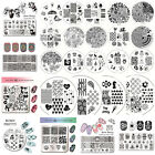 BORN PRETTY Nail Stamping Image Plate Manicure Stamp Design Template Stencil DIY