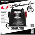 Battery Jump Starter Air Compressor Peak Portable Car Charger Booster Schumacher