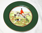 Fitz and Floyd Tallyho Fox Hunt Luncheon Plate 9 1/4 Inches No. 3