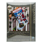 Dimensions Gold Collection Holiday Glow Stocking Counted Cross Stitch K 16 Long