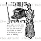 Class Act Chapel Road Cling Mounted Rubber Stamp Set 575X775 Typing Time