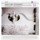 Prima Marketing Iron Orchid Designs Decor Clear Stamps 12X12 Toilechinoiserie