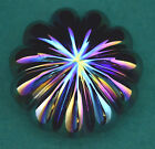 Robert Eickholt Iridescent Art Glass Paperweight, signed and dated