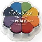 Clearsnap ColorBox Fluid Chalk Petal Point Ink Pad 8 Colors Primary Pastels