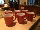 Vintage CORELLE CORNING Cinnamon Coffee Mugs Cups Set of 6-Excellent condition