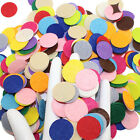 200pcs 25cm Round Felt Pads Apparel Sewing  Fabric Patches Flower Brooch Decor