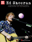 ED SHEERAN EASY GUITAR W NOTES  TAB MUSIC BOOK BRAND NEW ON SALE SONGBOOK