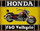 HONDA F6C Valkyrie MOTORCYCLE  METAL TIN SIGN POSTER WALL PLAQUE