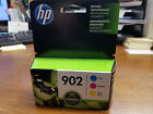 New Sealed HP 902 Genuine Ink Cartridges Cyan Magenta Yellow tri color FAST ship