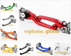 For HONDA CRF150F CRF230F 2003-2017 Pivot Clutch Brake Levers CNC Motocross 2016