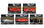 Hot Wheels FAST AND FURIOUS 8 Movie Collection DiecastCars Set of 5 Jada