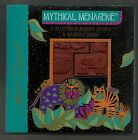 LAUREL BURCH Mythical Menagerie Rubber Stamp Set All Night Media unused stamps