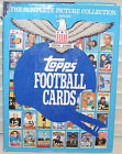 Topps Football Cards Book The Complete Picture Collection 1956 1986 J Clary