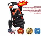 Jogging Stroller for Baby & Toddlers Large Tyres Locking Wheels Lightweight