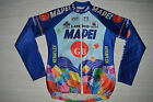 VTG TEAM MAPEI COLNAGO 1996 CYCLING JERSEY WINTER JACKET SPORTFUL VERY RARE XL