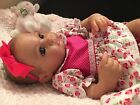 Adorable Reborn Preemie baby Kayla soft vinyl 17 inches long