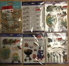 Jolees Boutique Themed Scrapbook Sticker Lake Barbecue Archery Lot of 6 NIP