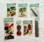 NEW 7 piece Jolees Boutique Dimensional Stickers Embellishment Lot Camp Outdoor