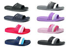 New Womens Ultra Soft Sports Slide Sandals Shower Pool Gym Garden House 03L
