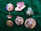 Lot of Independent Odd Fellows Pins Charms Daughters of Rebekah