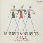 A.S.A.P. (AS SOON AS POSSIBLE) Boy Friends Girl COCA-6899 CD JAPAN 1990 NEW