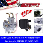 Carburetor Air Filter KITS for Y Zinger Yamaha PW50 PW 50 PY50 G50T Motorcycle