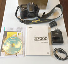 Nikon D7000 162MP Digital SLR Camera Body Low Shutter Count with Accessories