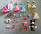 31 Piece Disney Minnie Mouse Fashion Set Polly Pocket type dress up doll lot