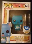 Funko POP Figure Animation: Fairy Tail Happy Flocked FYE Exclusive