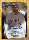 2009 Upper Deck Future Foundations Auto PRINCE FIELDER 35 75 Autographed