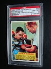 Very RARE 1963 Topps *ASTRONAUTS* *PSA 8* Card #23 Popsicle Back *Low Pop 1 1*