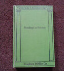Readings in Science Riverside Literature Series RLS 1925 John A Lester Green