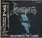 VENOM Skeletons In The Closet TECX-25698 CD JAPAN 1994 OBI