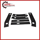 6 Pc Frame Rust Repair Shackle Weld Plates Jeep Wrangler YJ Rear Rusted 87-95