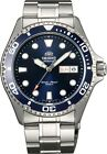 Orient Watch Ray II Blue FAA02005D AA02005D Stainless Steel 200M Diver Watch