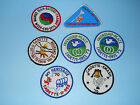 Vintage Girl Scout Cadette Senior Camp patches LOT 7 NEW USED
