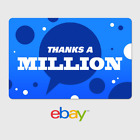 eBay Digital Gift Card Thank You Thanks a Million Email Delivery