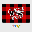 eBay Digital Gift Card Thank You Flannel Email Delivery
