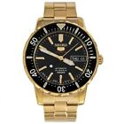 Seiko 5 Automatic Mid Size Watch Japan 24 Jewel Gold plated SRP196J1 UK Seller