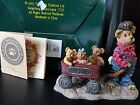 Boyds Bears & Friends Huck with Mandy, Zoe and Zack Rollin' Along #227727