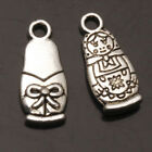 Girl Doll Tibet Silver Pendants Charms Jewelry Finding Fit Necklace
