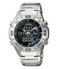 Casio watch Fishing Gear Thermometer Moon Phase 100M AMW703D UK Seller
