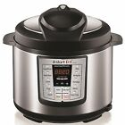 Instant Pot Lux 6 In 1 Multi-Use Programmable Pressure Cooker, 6 Quart | STEEL