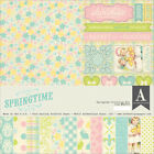 Authentique Paper EAS010 Authentique Collection Kit 12X12 Springtime