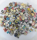 300 Mix Random Lot Wholesale Floating Charms for Glass Memory Locket